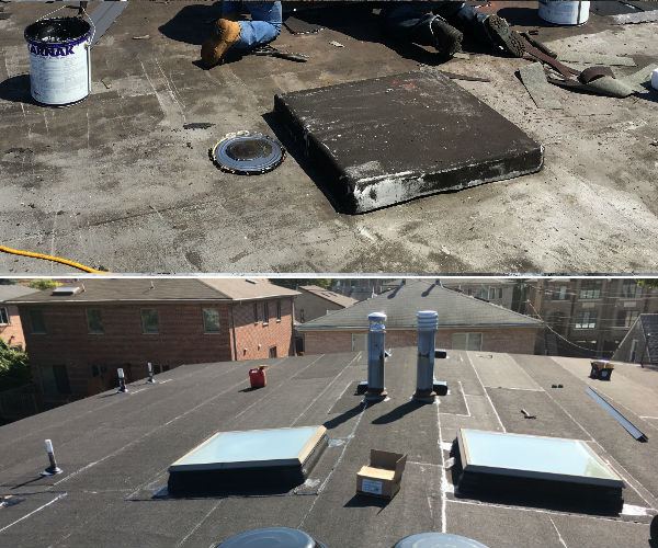 Flat Roof Replacement Three Brothers Roofing Contractor Local Flat Roof Repair Services Over 20 Years Of Experience Call Today Roof Repair Nj